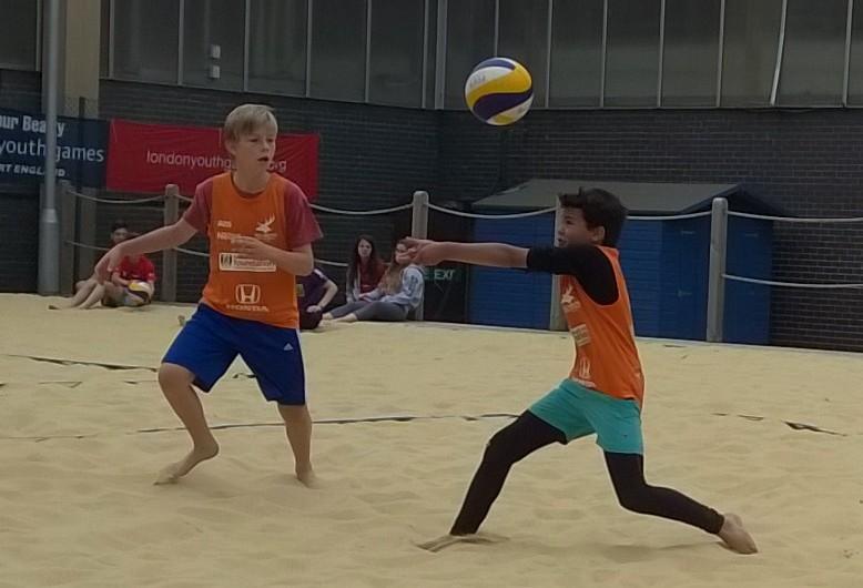 Beach junior boys