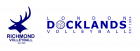 Richmond Volleyball and London Docklands Logo
