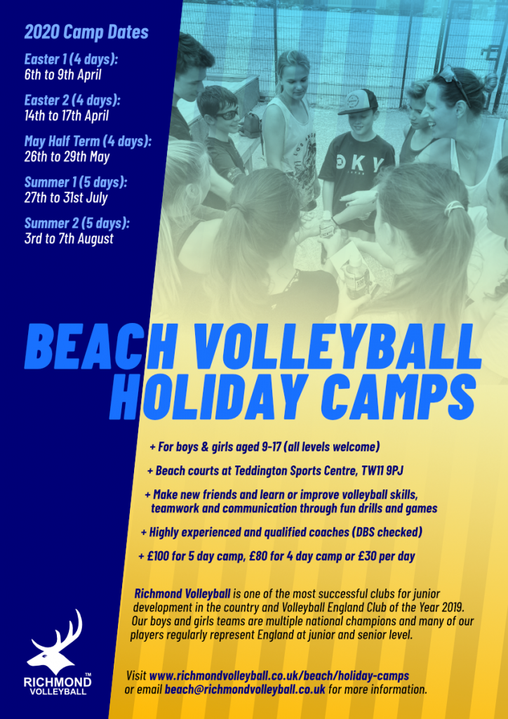 Holiday camps Poster 2020