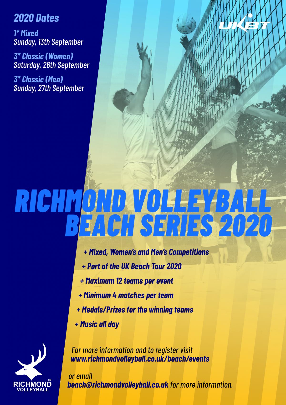 beach series 2020 poster